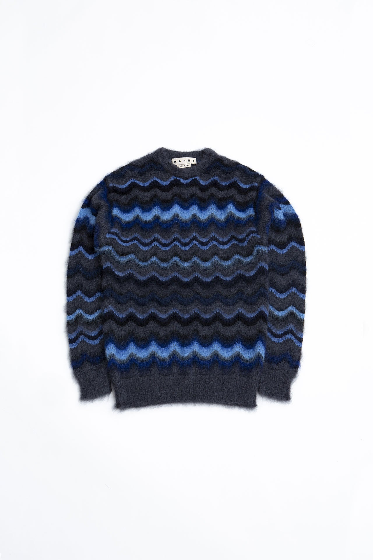 Round Neck Sweater navy, black