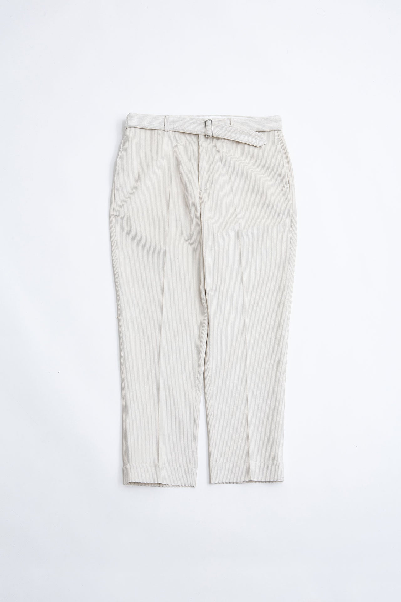 Owen pants big cord ecru