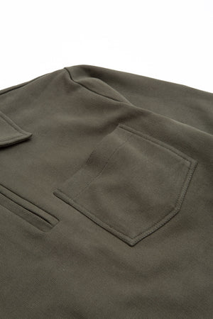 Track top dry loopback armygreen