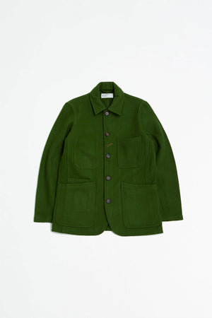 Long Bakers jacket mowbray green