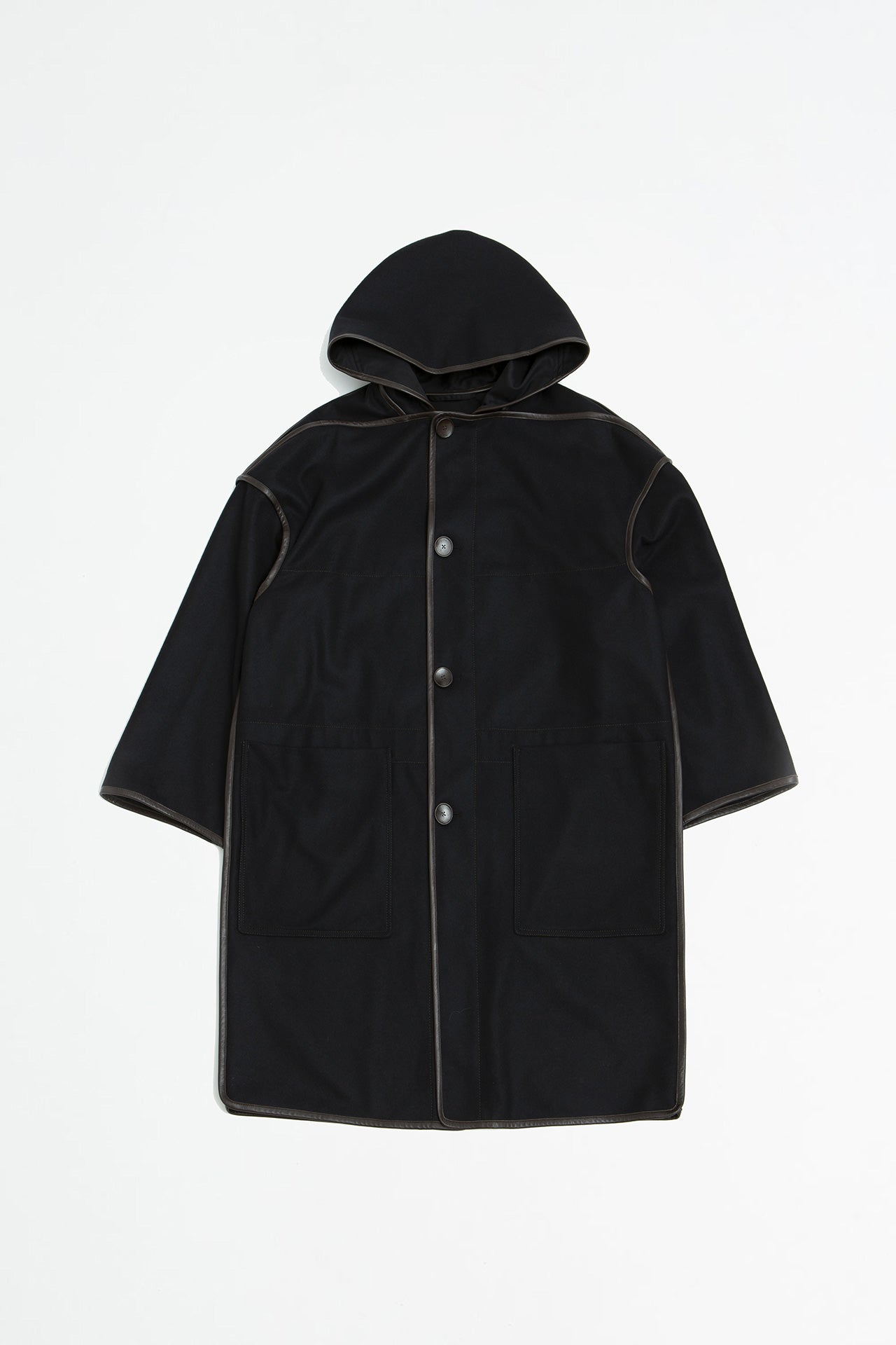 Duffle coat black