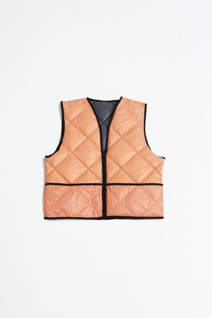 Studio reversible Vest grey - light pink