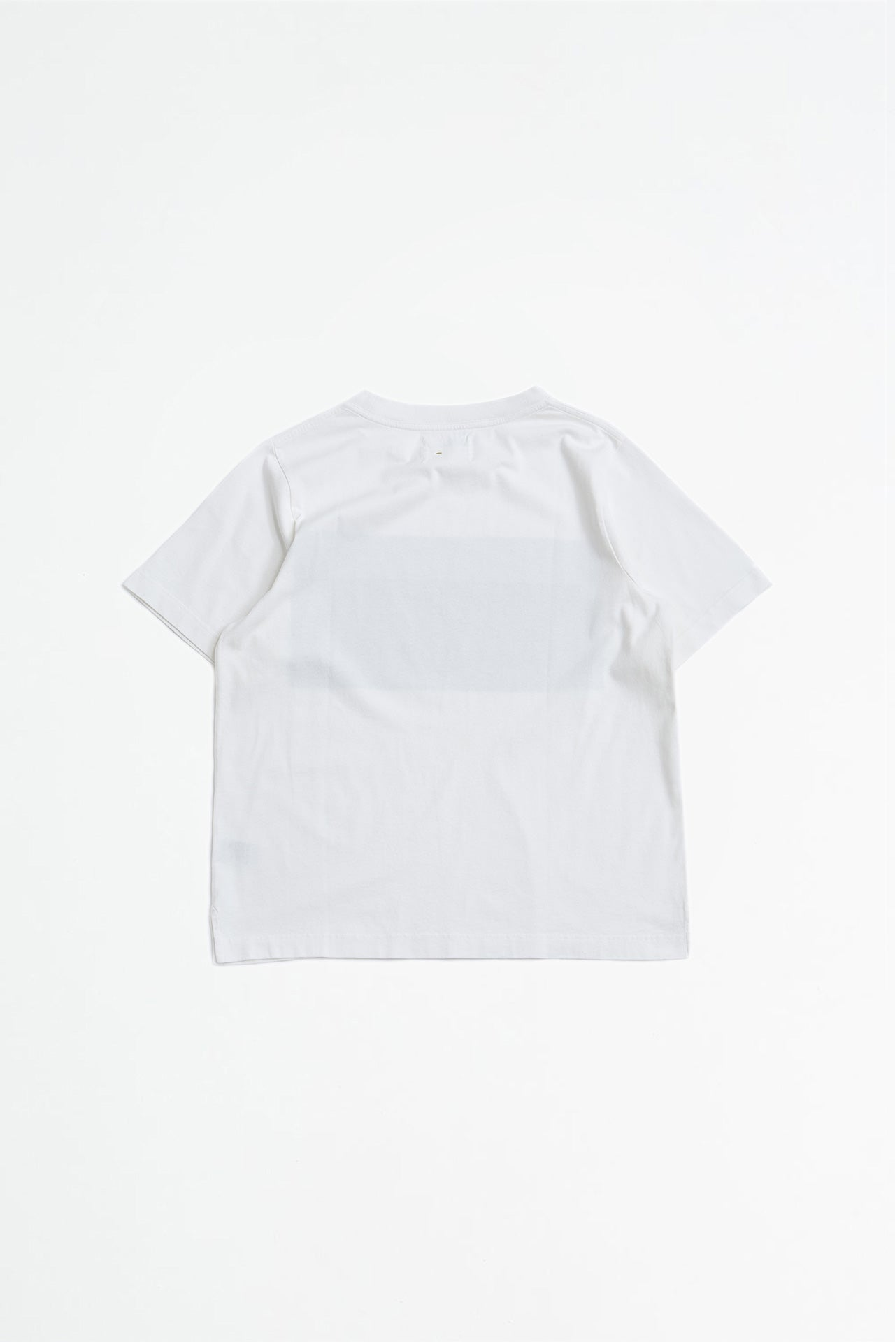 Two tone print t-shirt offwhite/black