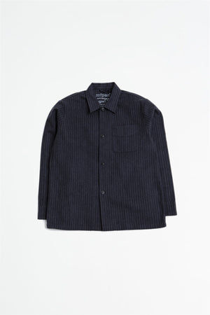 Type overshirt dark grey