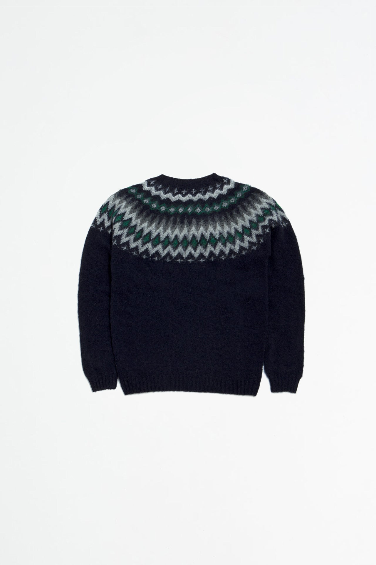 Birnir Fairisle dark navy