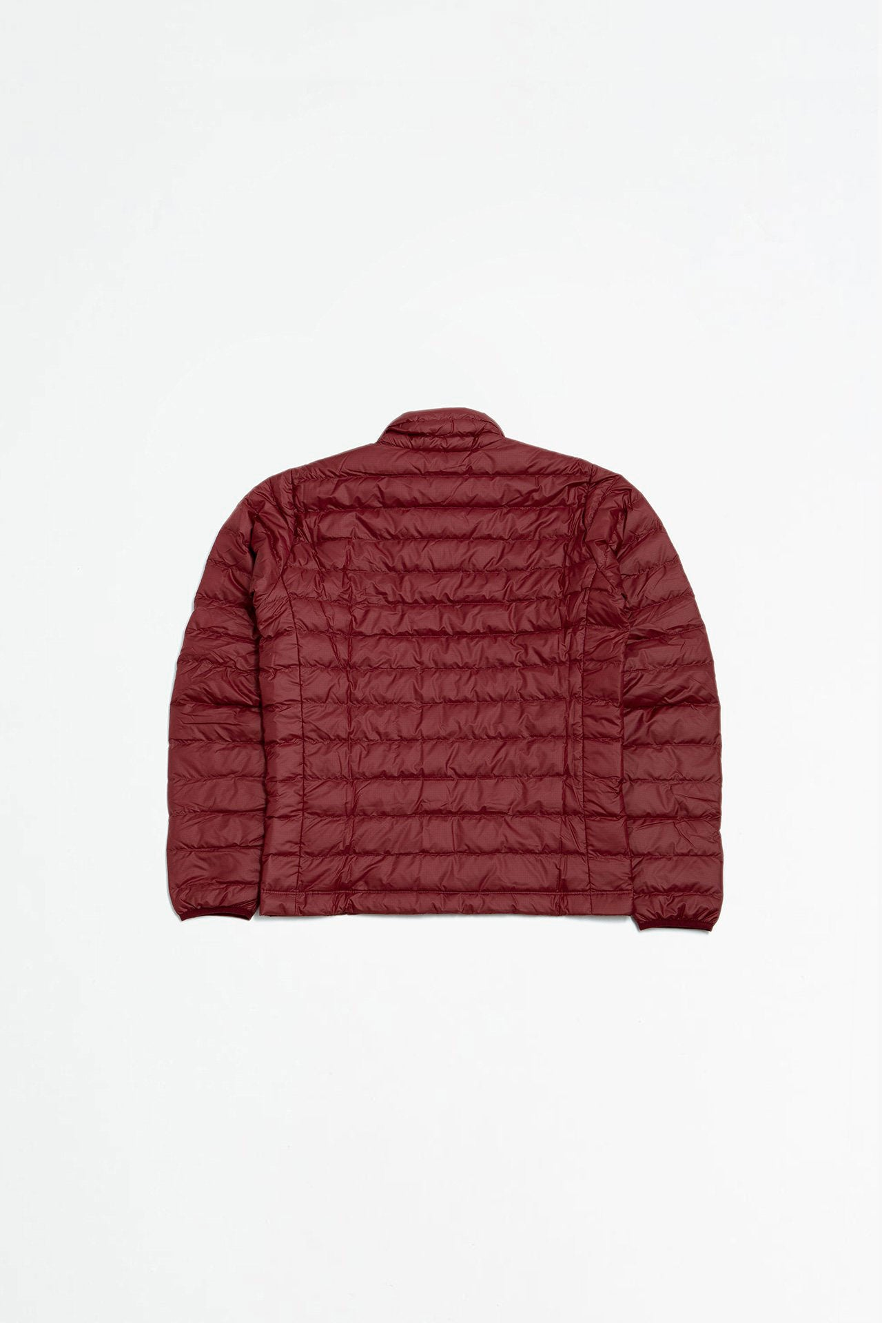Down sweater oxide red