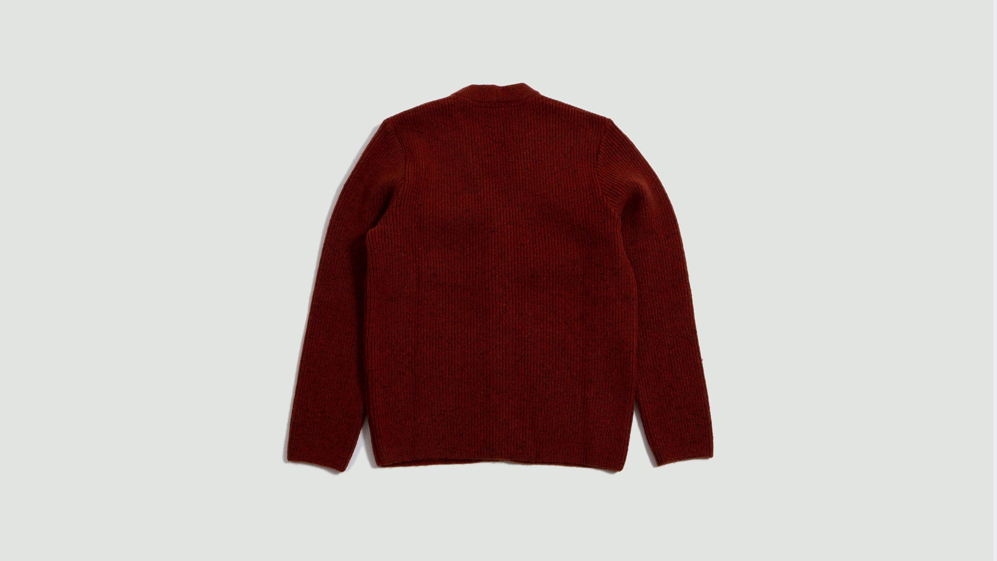 Gambino Knit Jacket rust melange