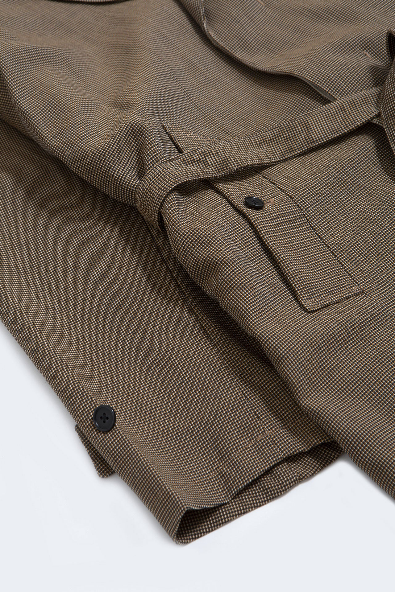 Original check trench coat beige