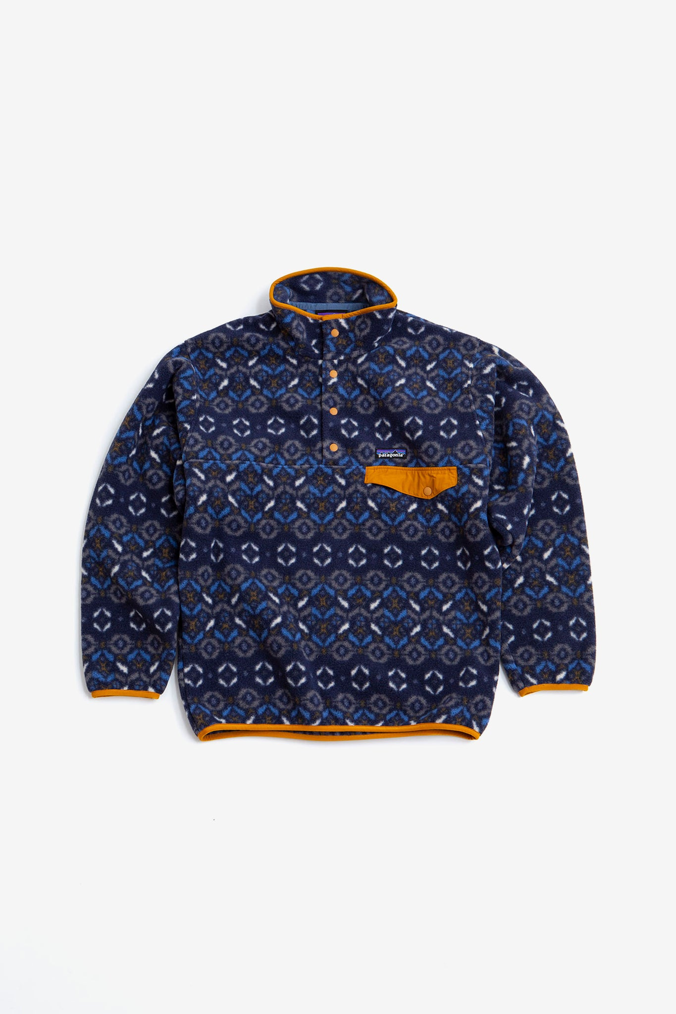 Synchilla snap-T pullover tundra cluster