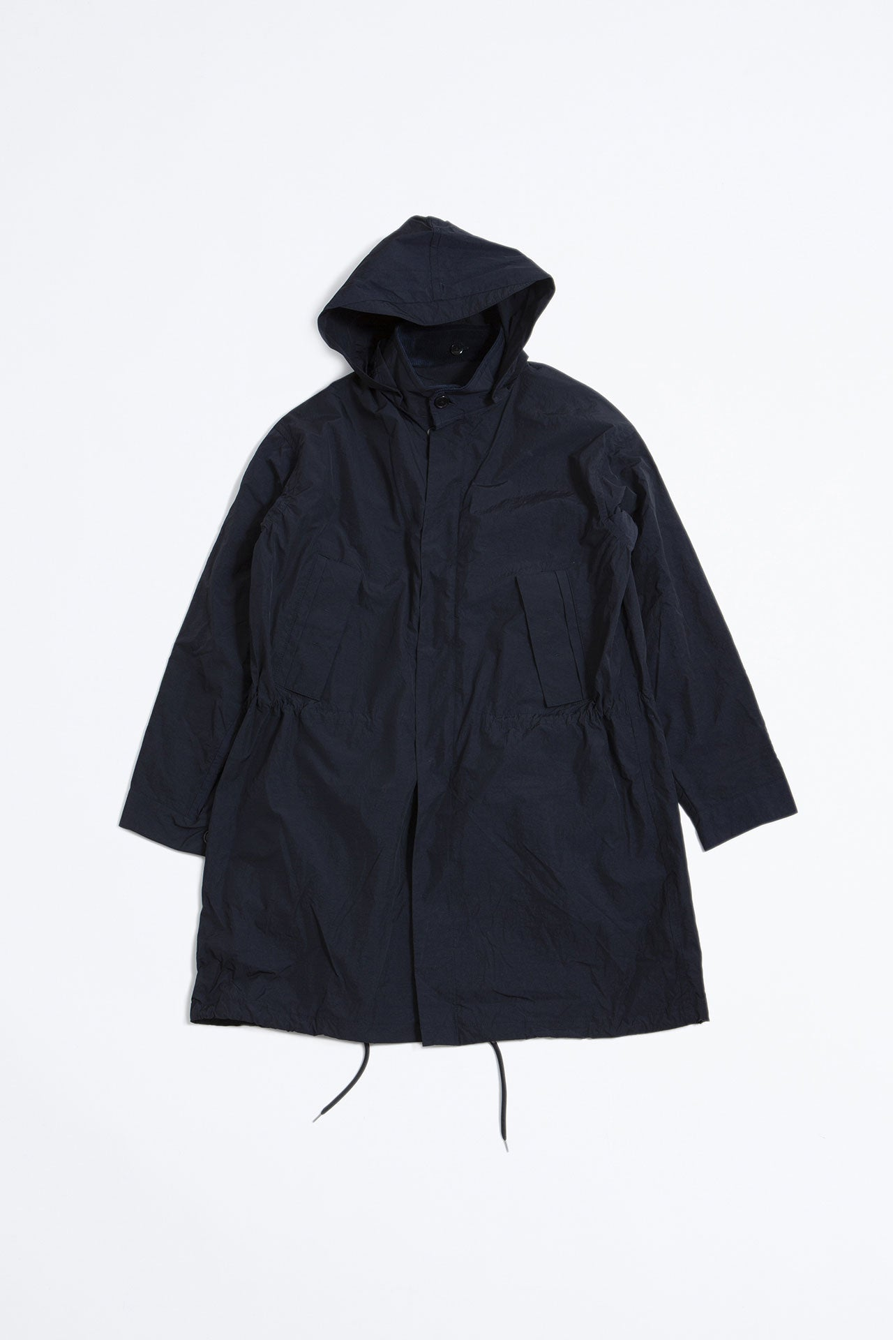 Detachable lining coat navy