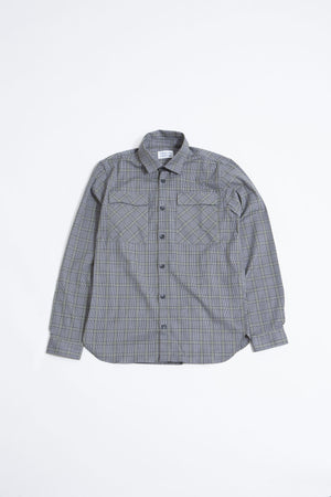 Nation Shirt olive check