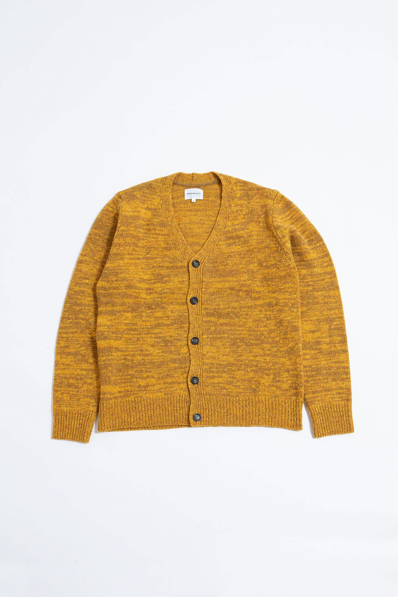 Adam cardigan neps montpellier yellow
