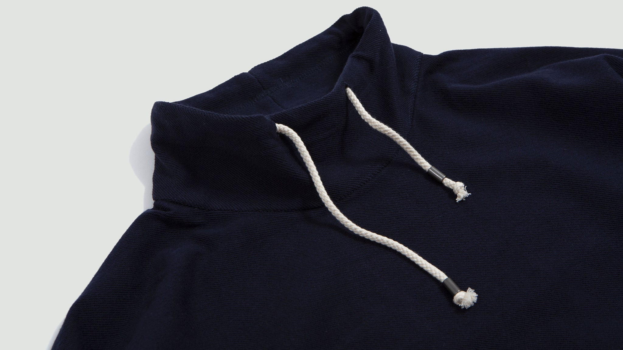 Sweat Col Montant Heritage navire navy blue