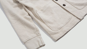 Prairie Jacket dry handle loopback ecru