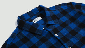 Garage Shirt brushed gingham blue