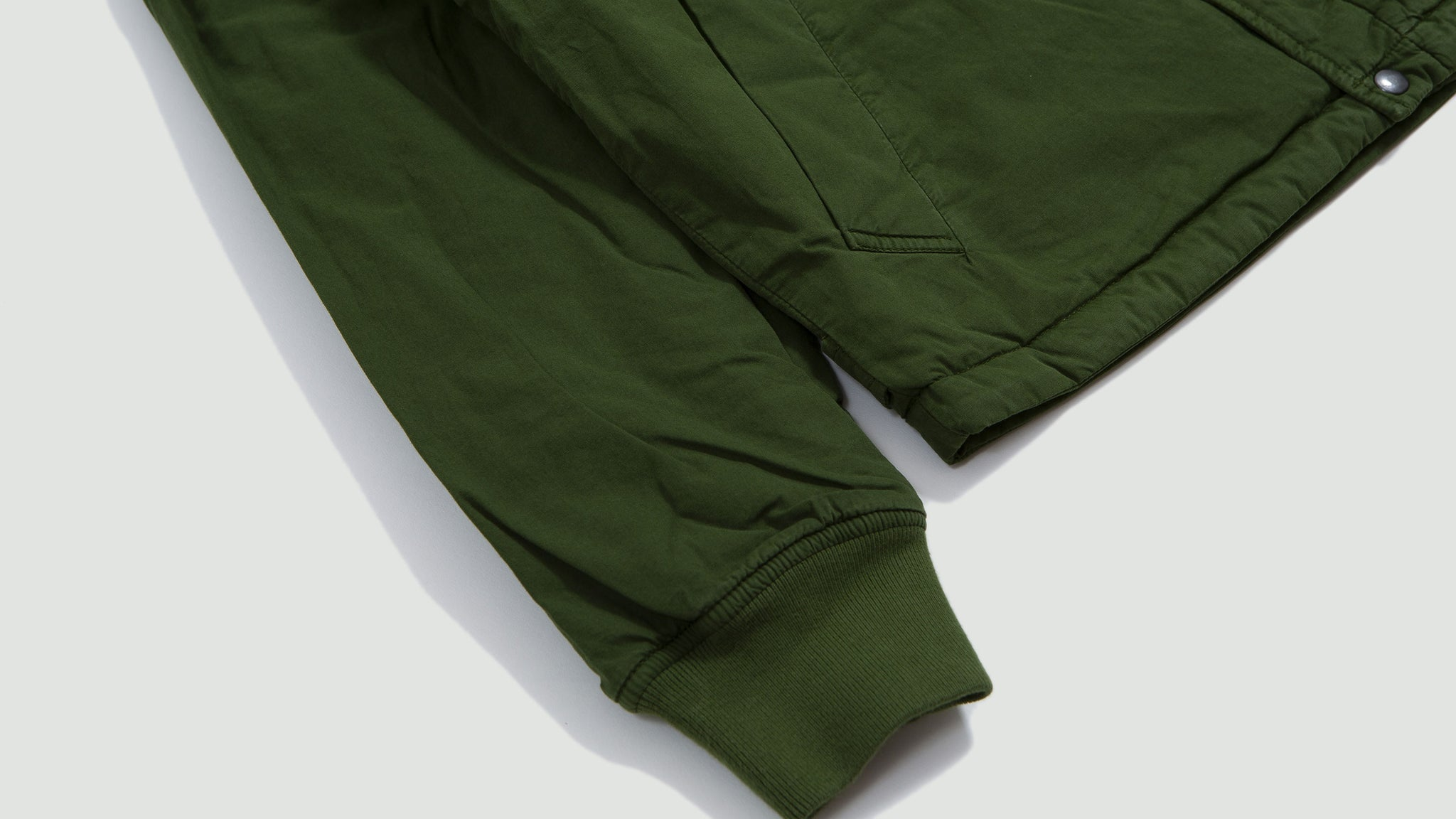 Carlton jacket insulated green