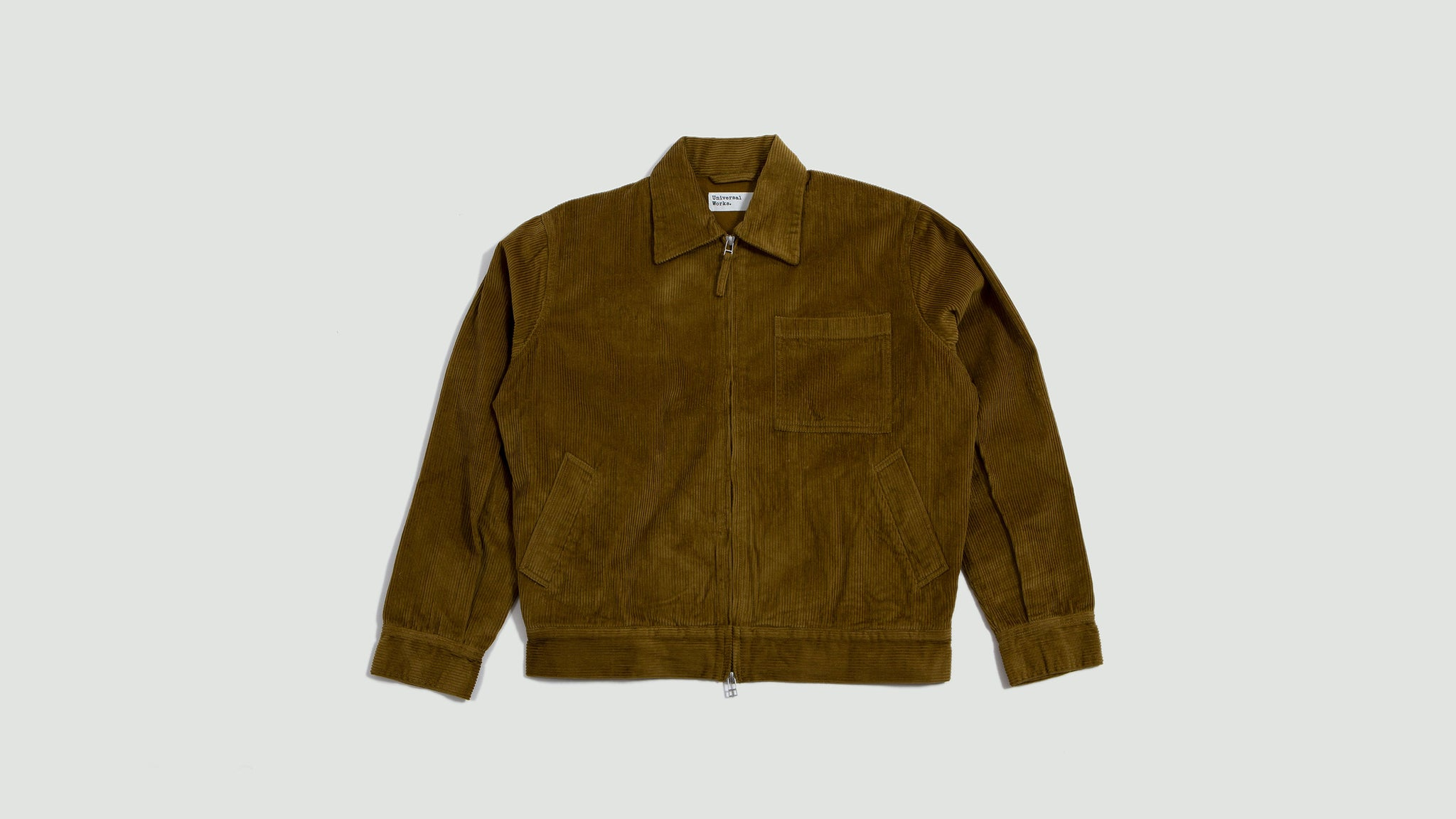 Rose Bowl jacket wale cord mustard