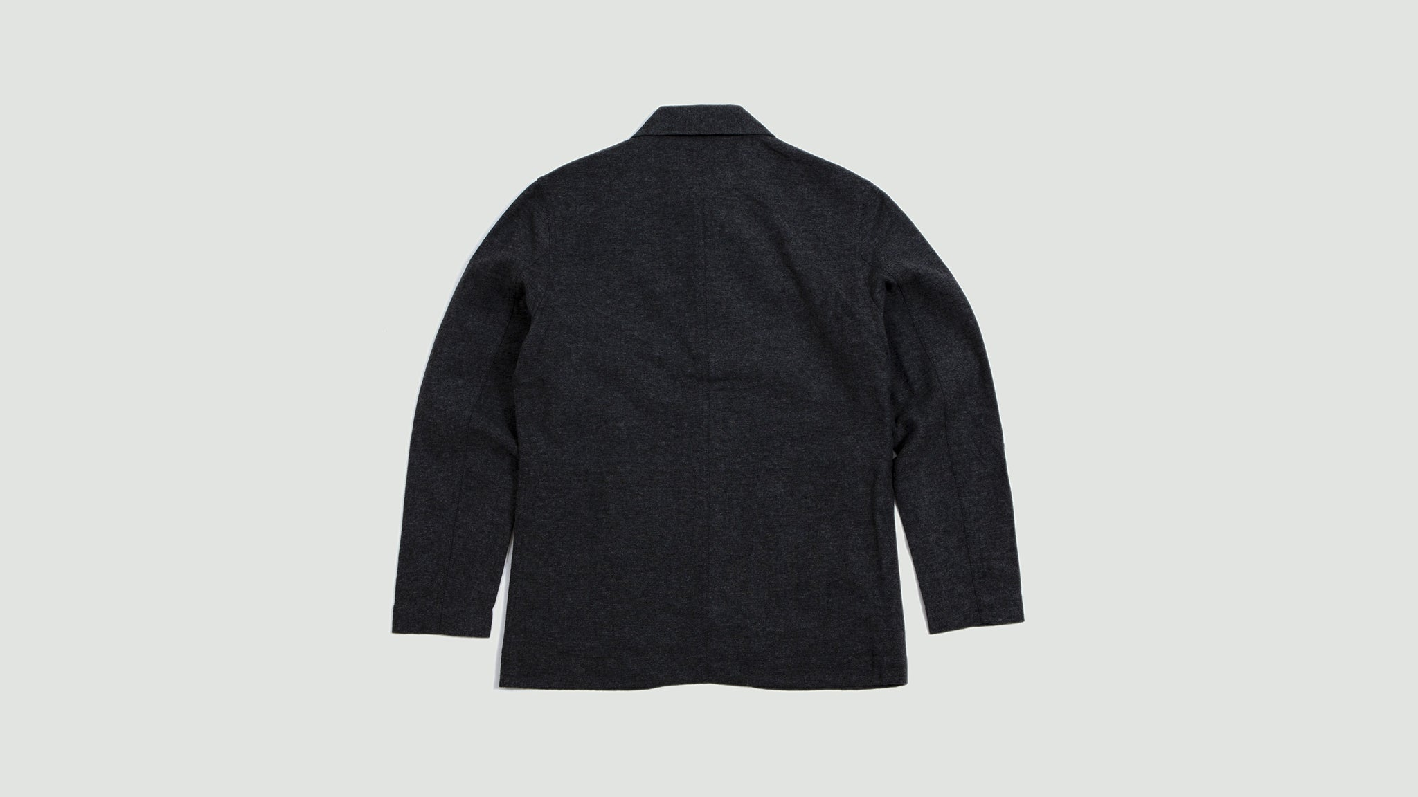 Norfolk Bakers Jacket wool marl grey