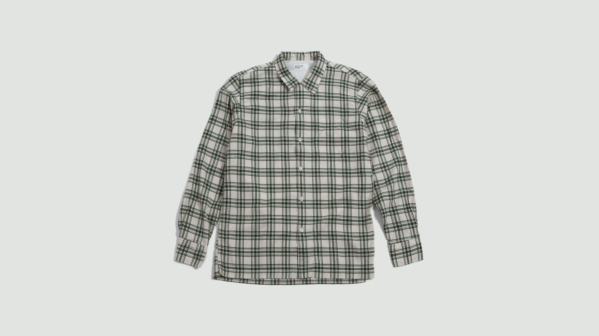 Garage Shirt bestwood check ecru