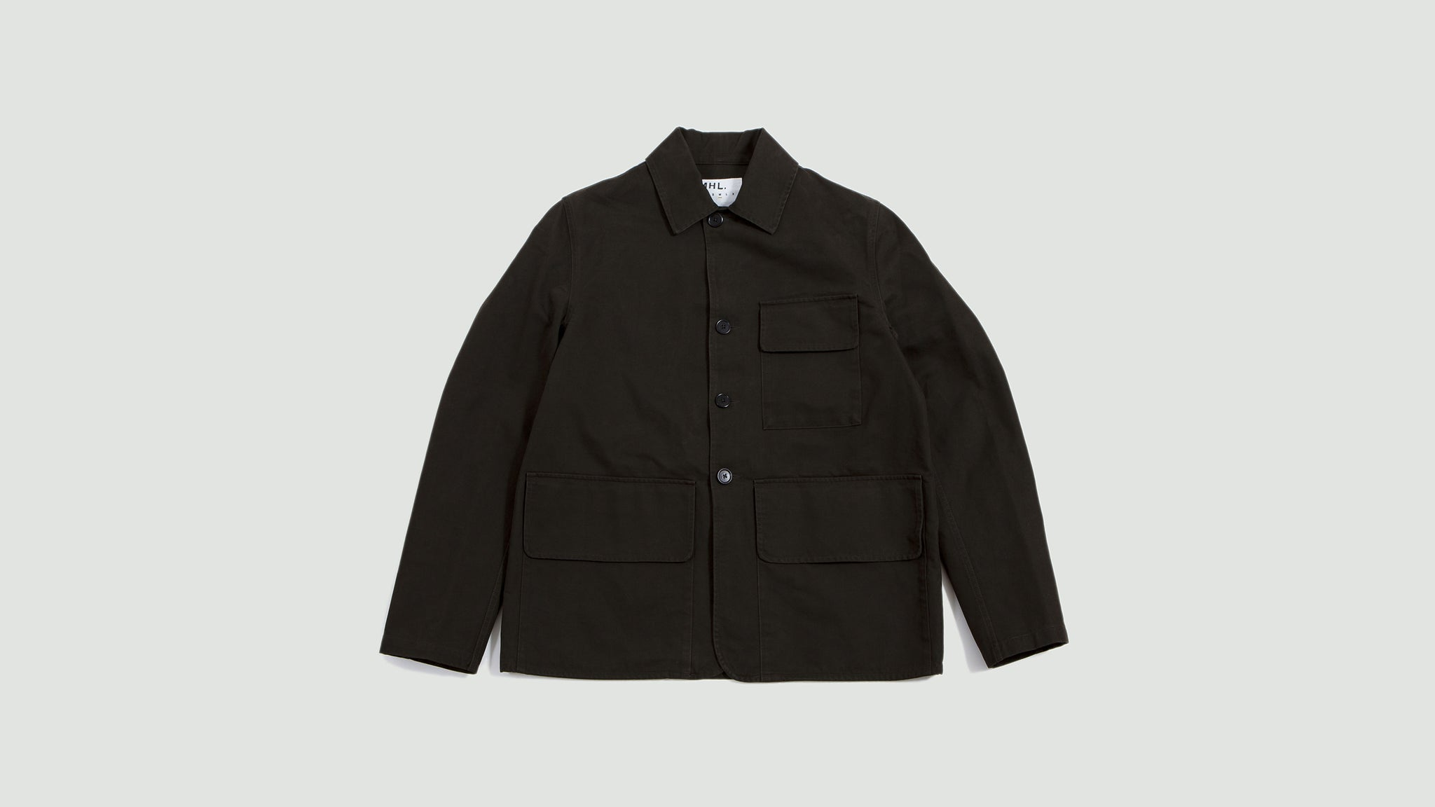 Hunting Jacket Dense Cotton Drill Dark Olive