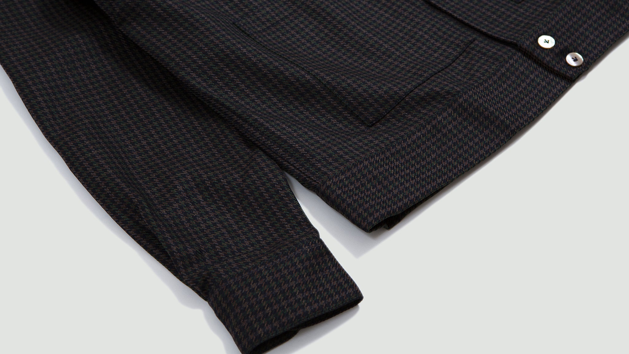 Overshirt Bell navy/small checks