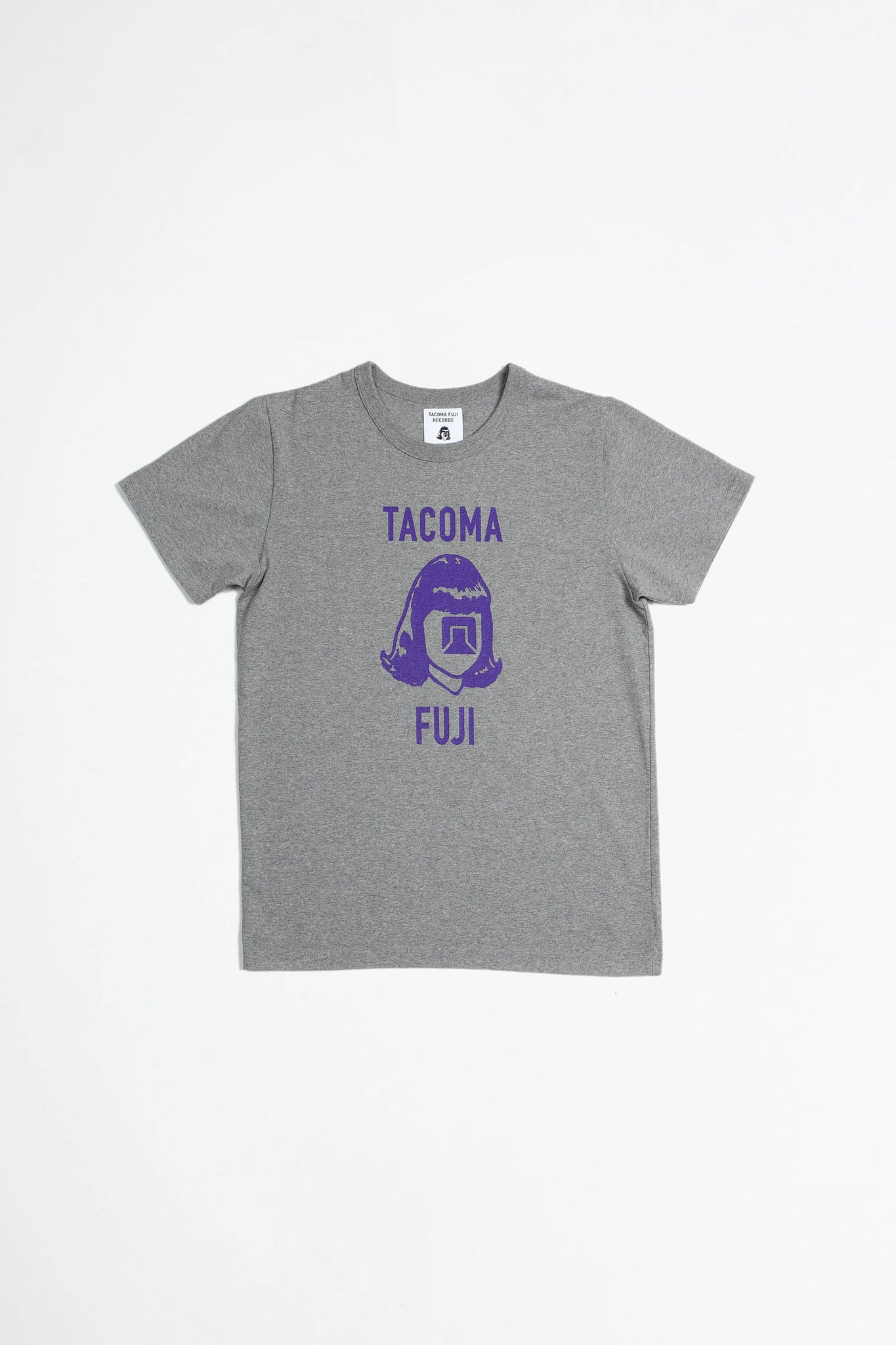 Tacoma Fuji Records Logo Mark 20 grey