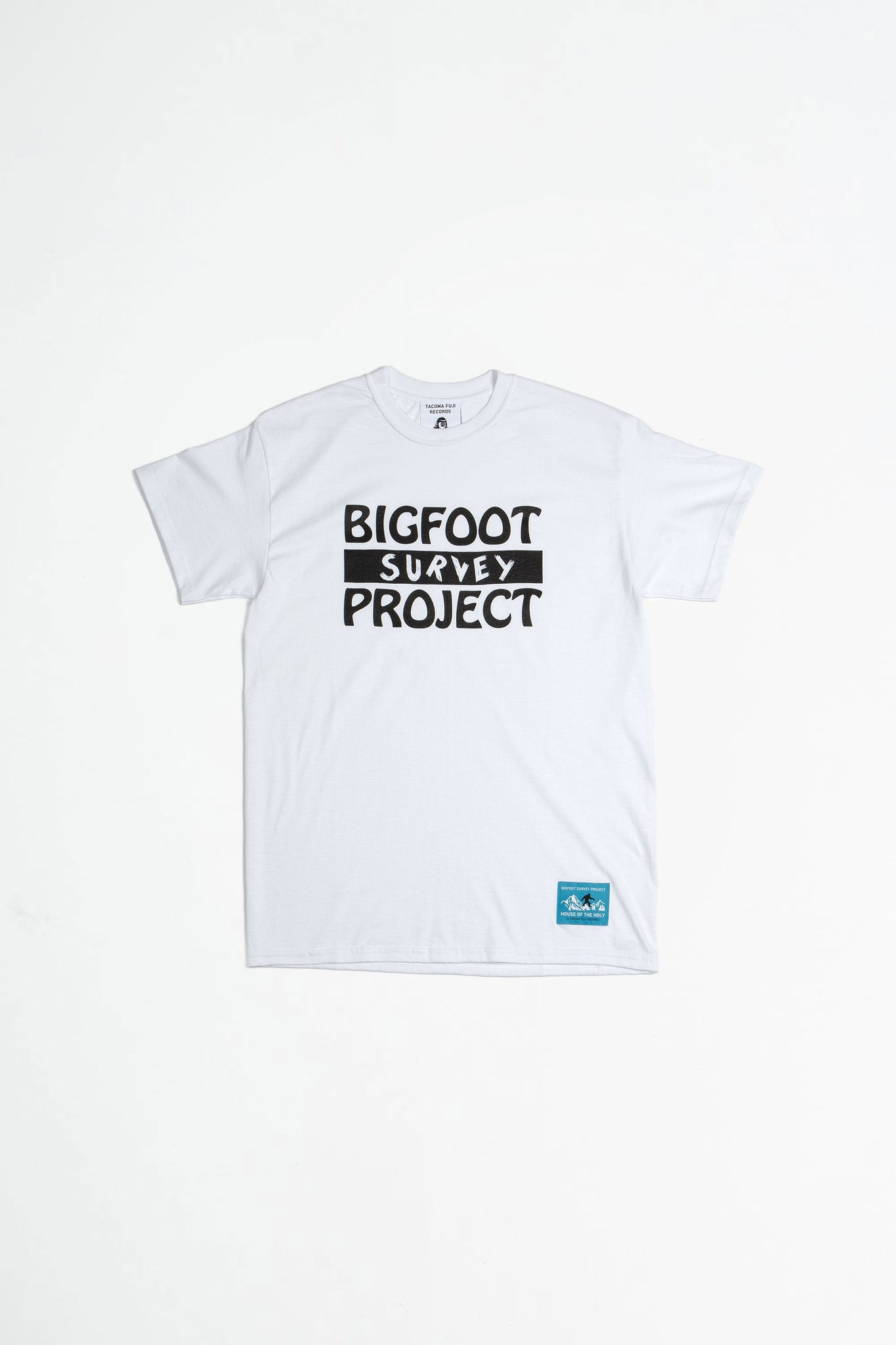 Bigfoot survey project t-shirt white