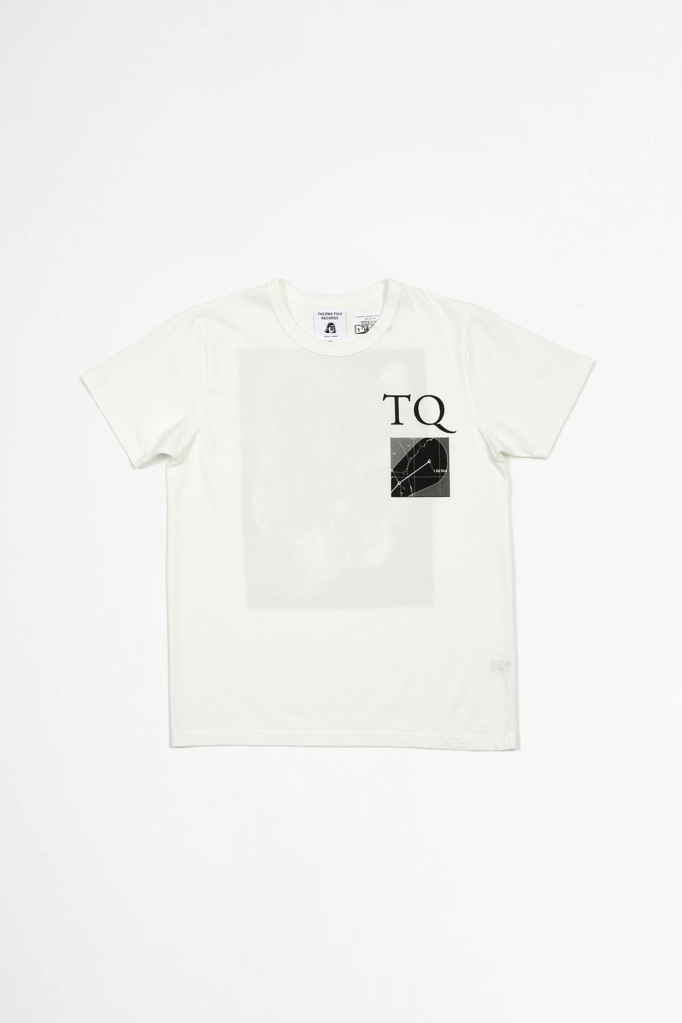 Tropisches Quartett t-shirt white