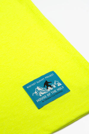 Bigfoot survey project t-shirt yellow