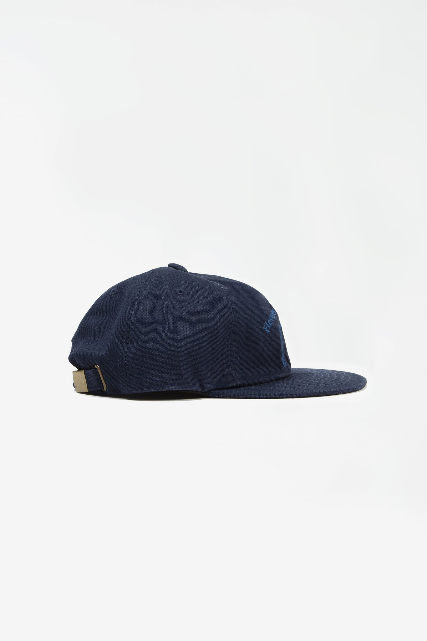 Hewrps vintage duck six panel cap blue