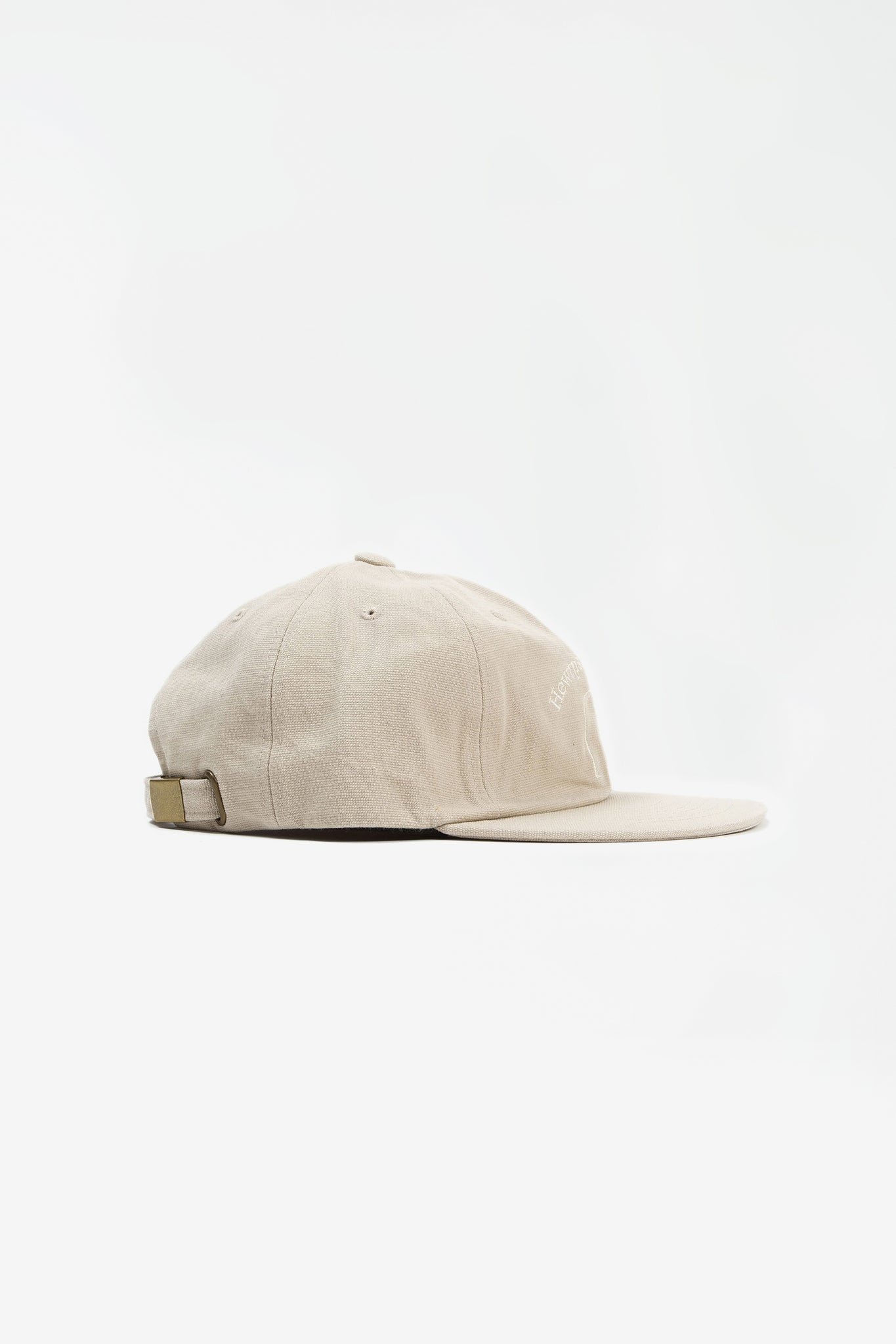 Hewrps vintage duck six panel cap ivory