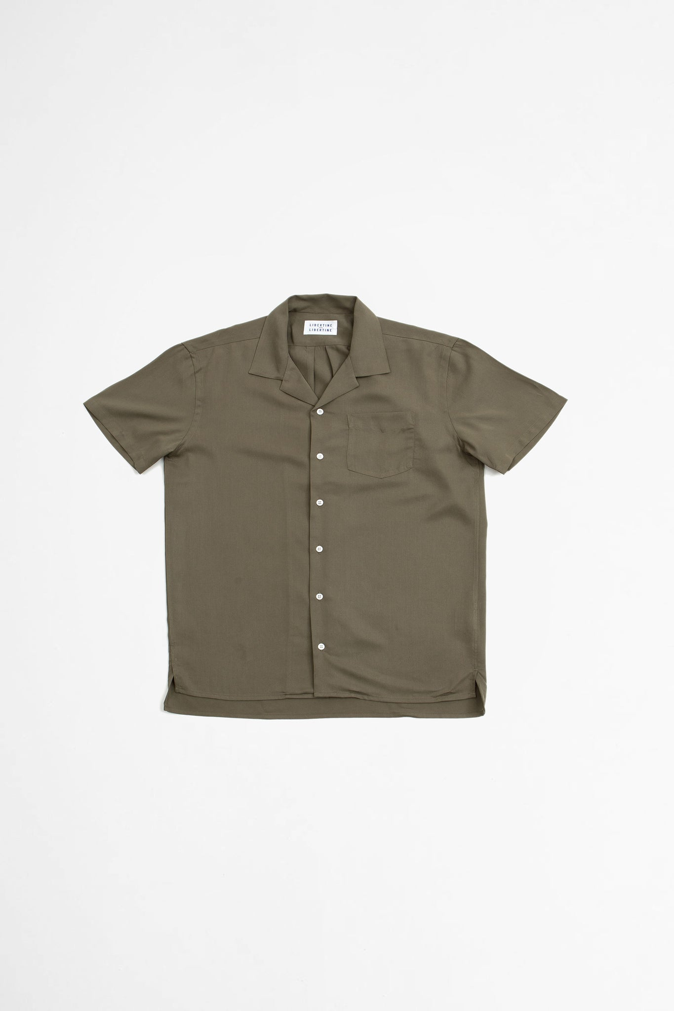 Cave S/S shirt olive