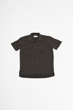 Cave S/S shirt brown check