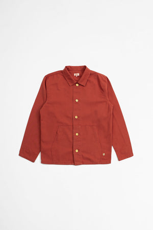 Fisherman jacket dark rosewood