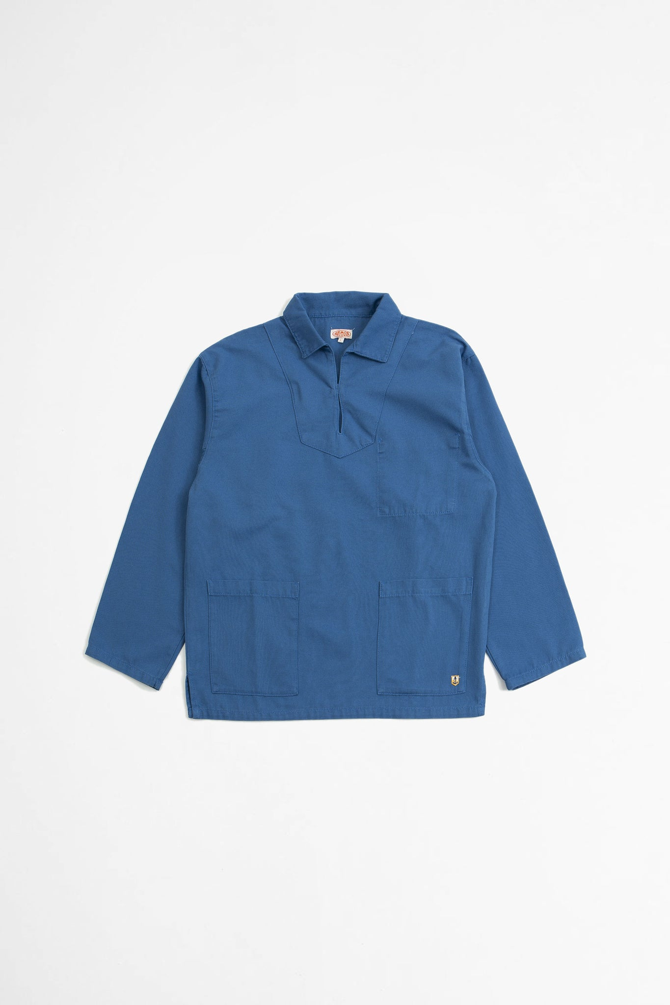 Smock top ozero blue