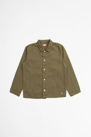 Fisherman jacket fern khaki