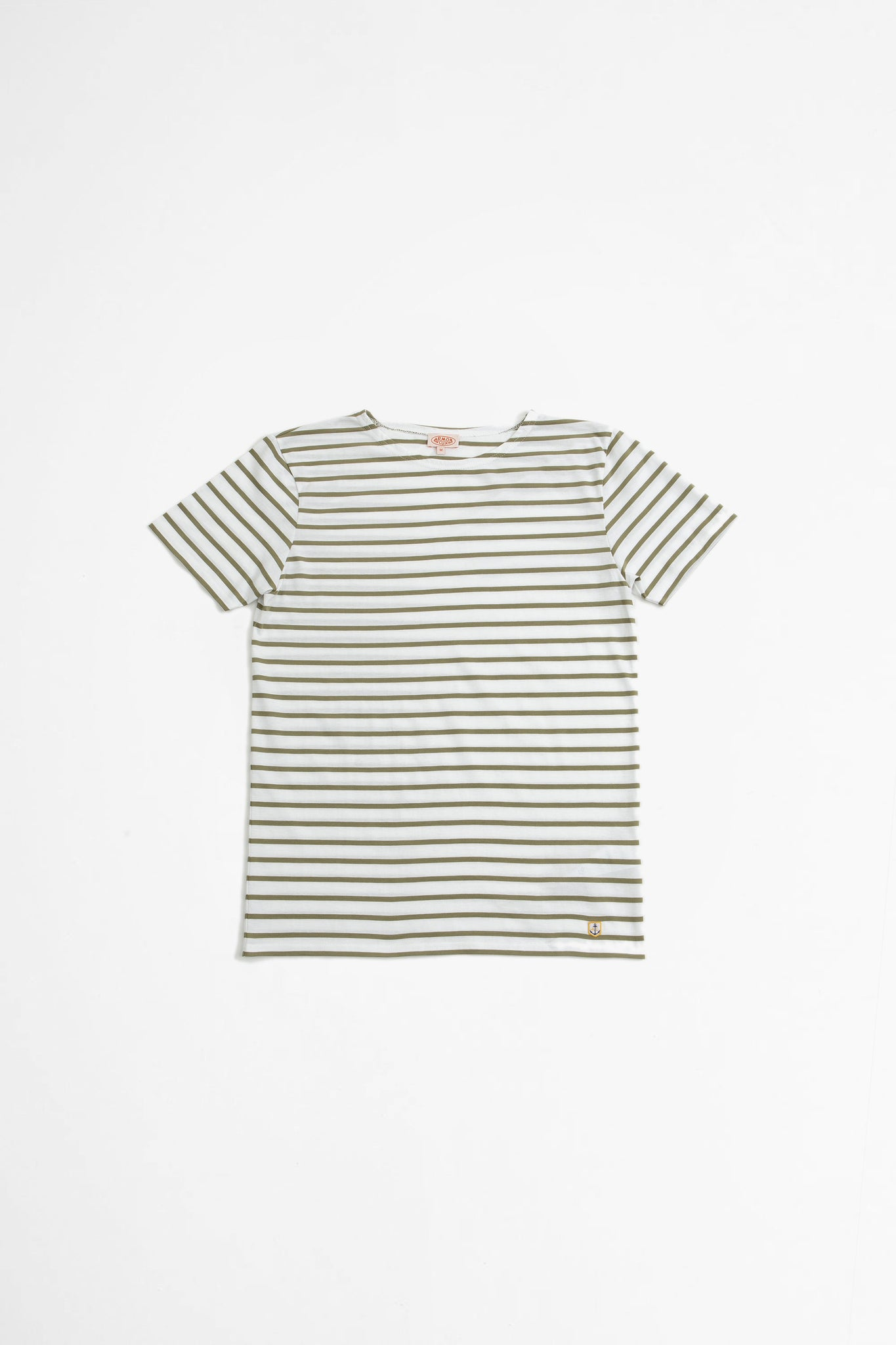 Sailor t-shirt Hoedic white/fernkhaki