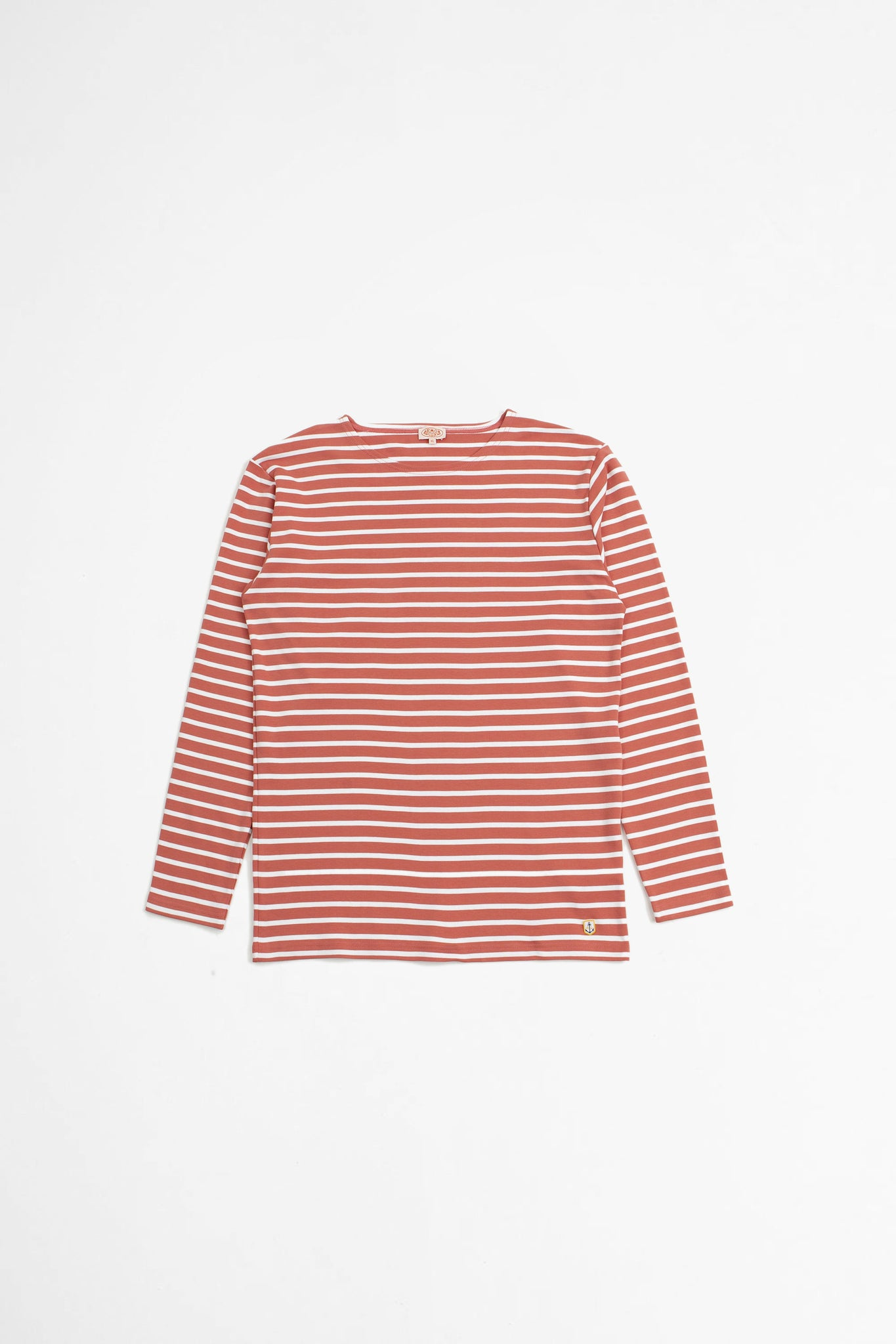 Sailor t-shirt Houat rosewood/white
