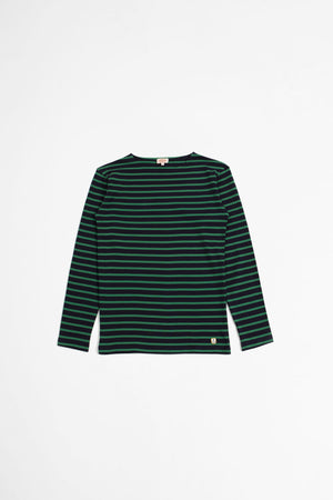 Sailor t-shirt Houat navy/billardgreen