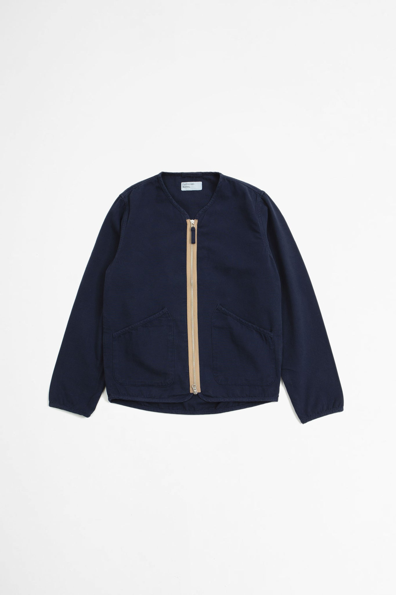 Military liner jacket canvas navy