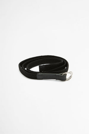 Stretchable ring belt black