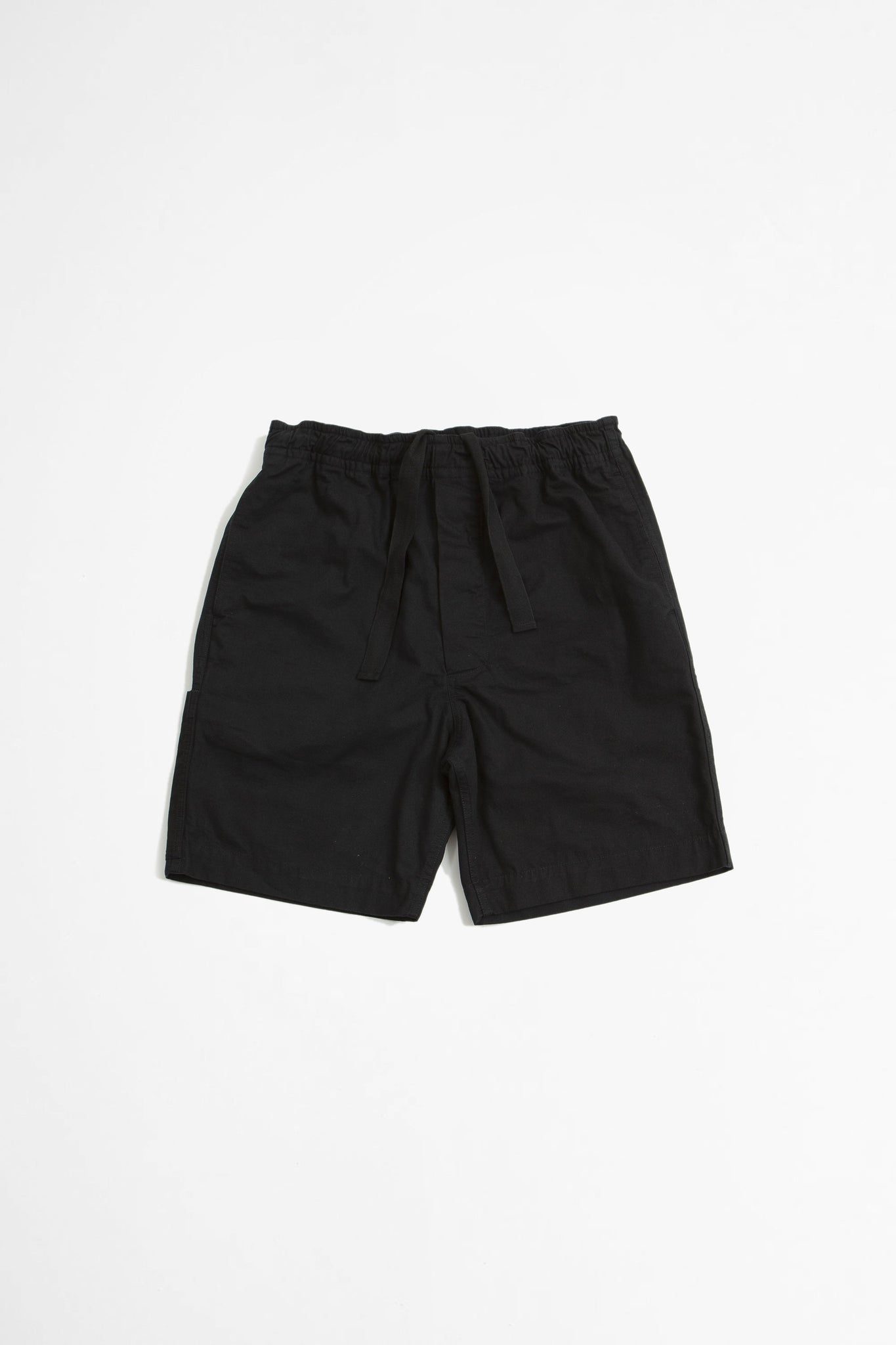 Pull up shorts compact broken drill black