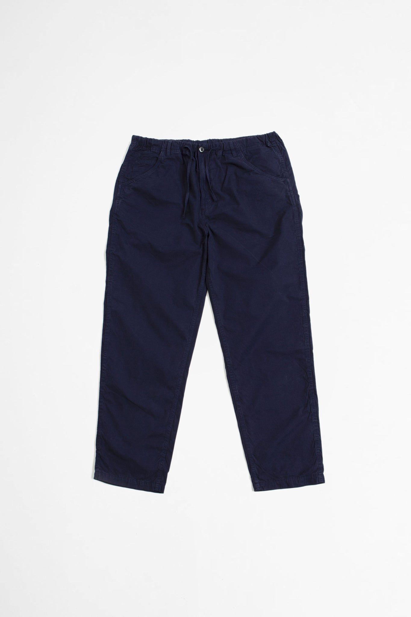 Recreation pant navy poplin