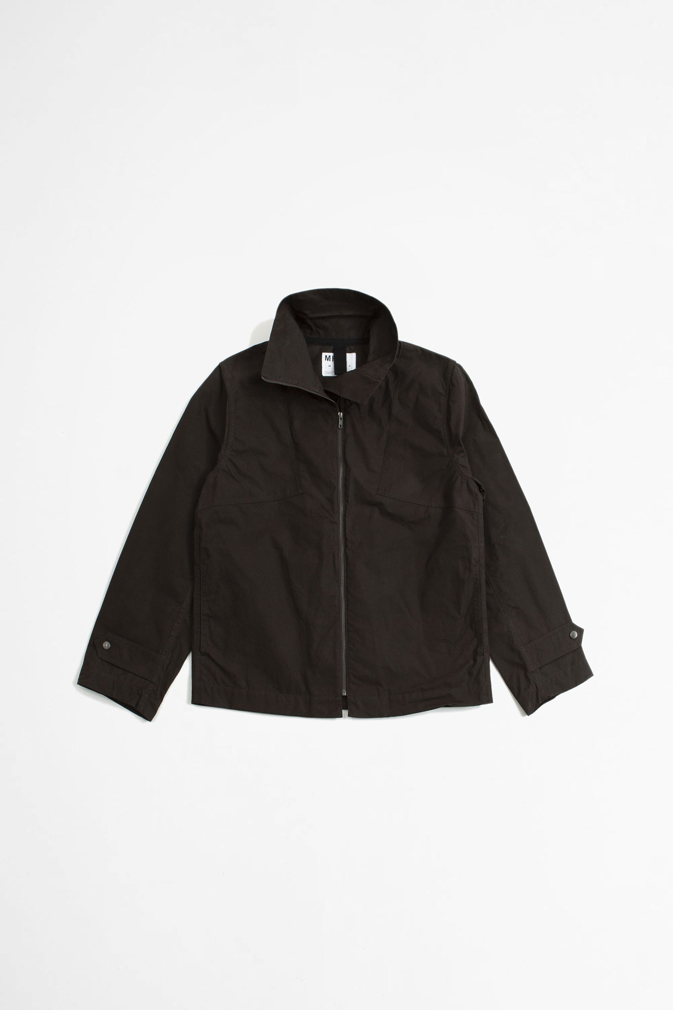 Rescue jacket washed waxed cotton carob