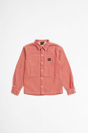 Prison shirt red hickory