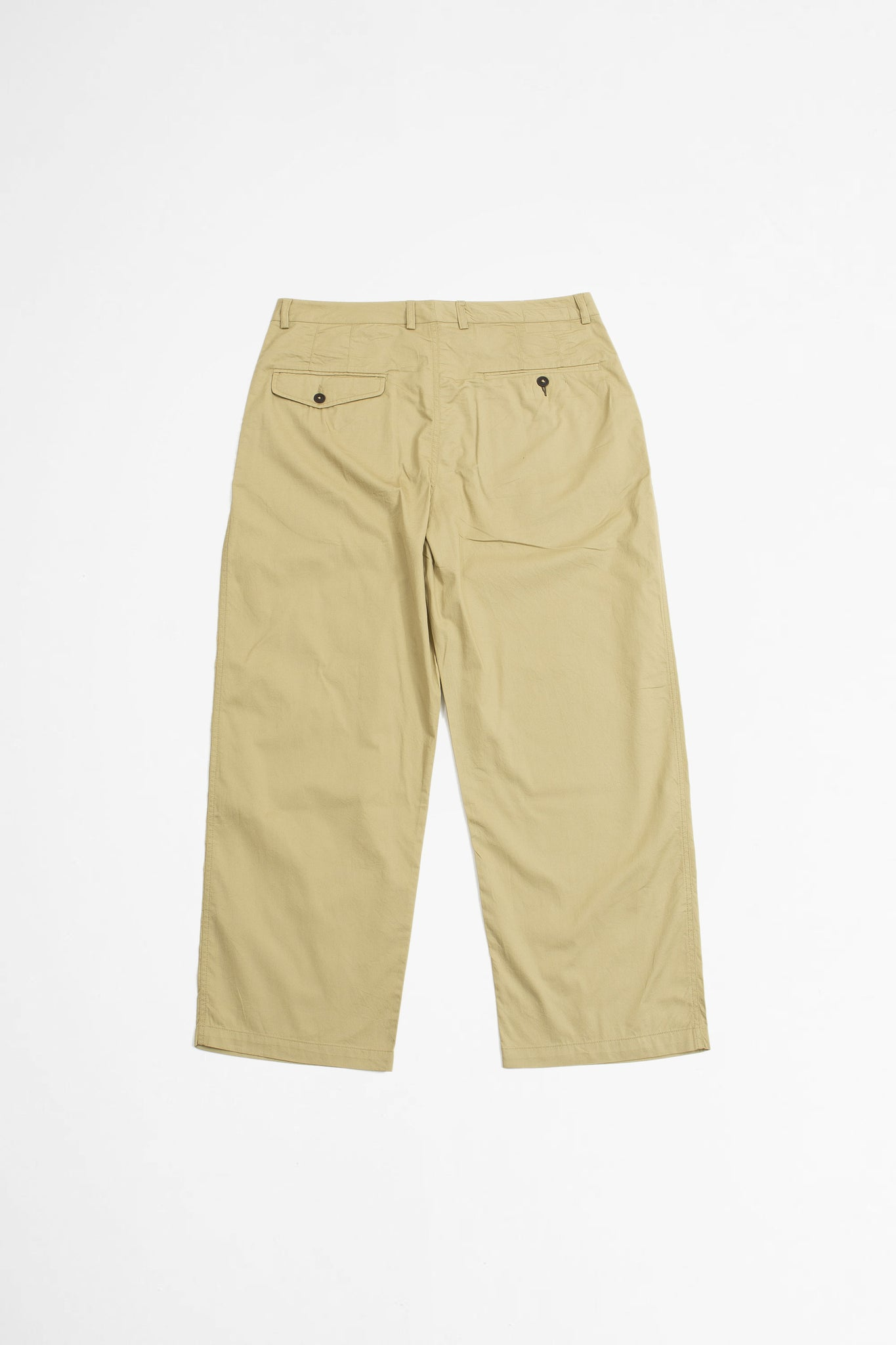 Sailor pant fine twill tan