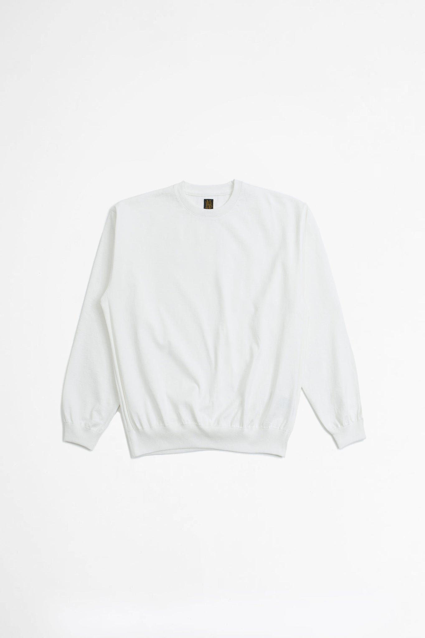 Degrease crewneck knit white