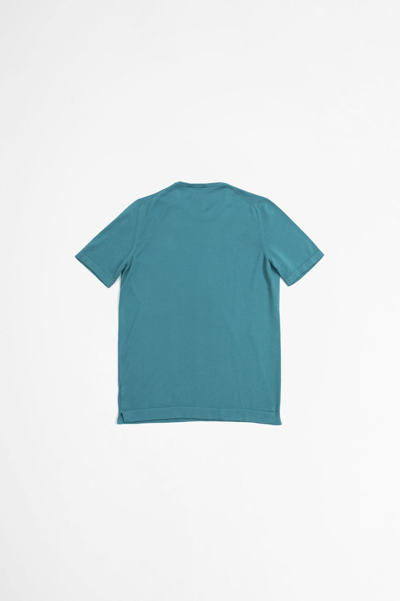Paricollo short sleeve turquoise