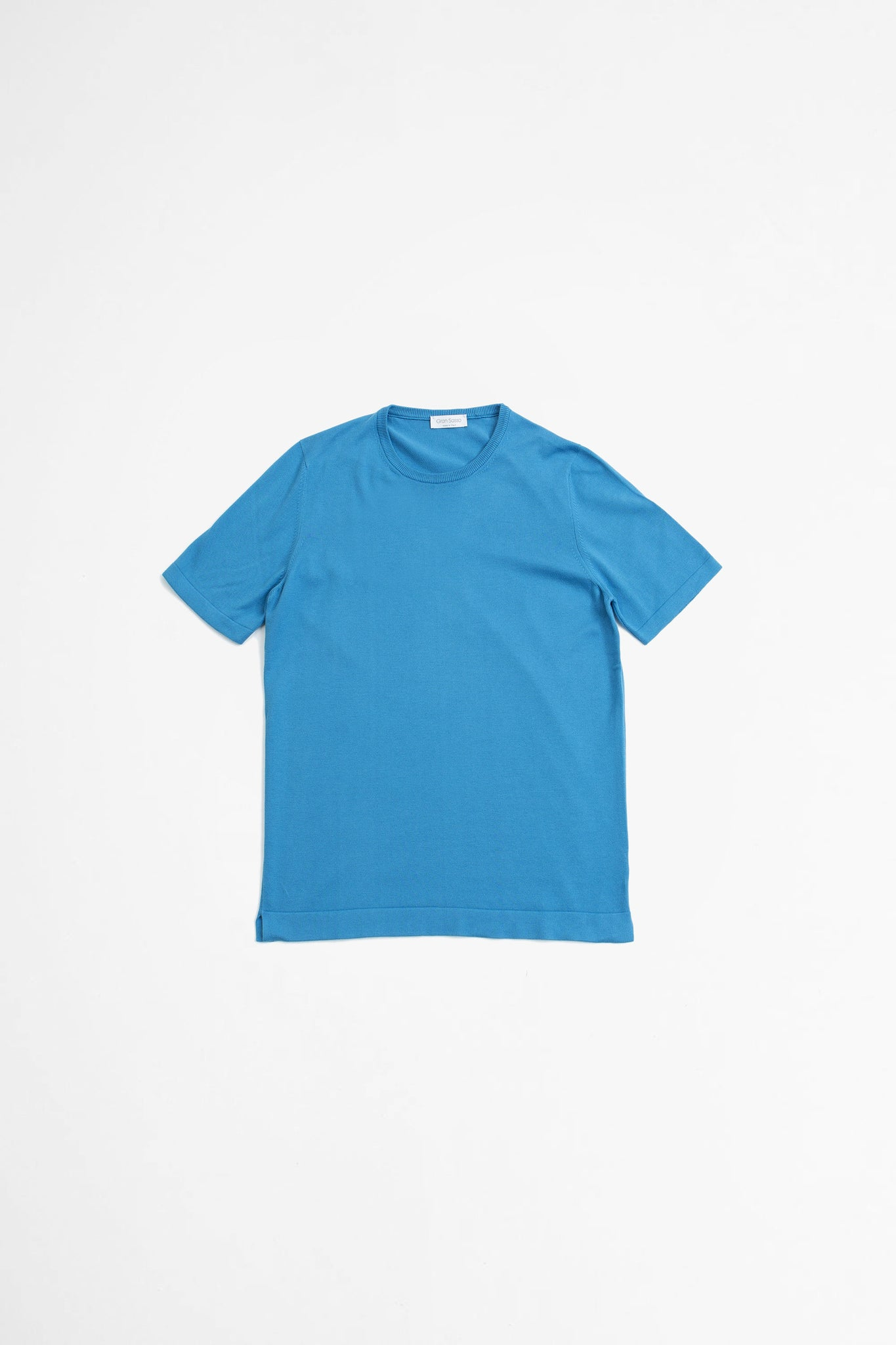 Paricollo short sleeve sky blue