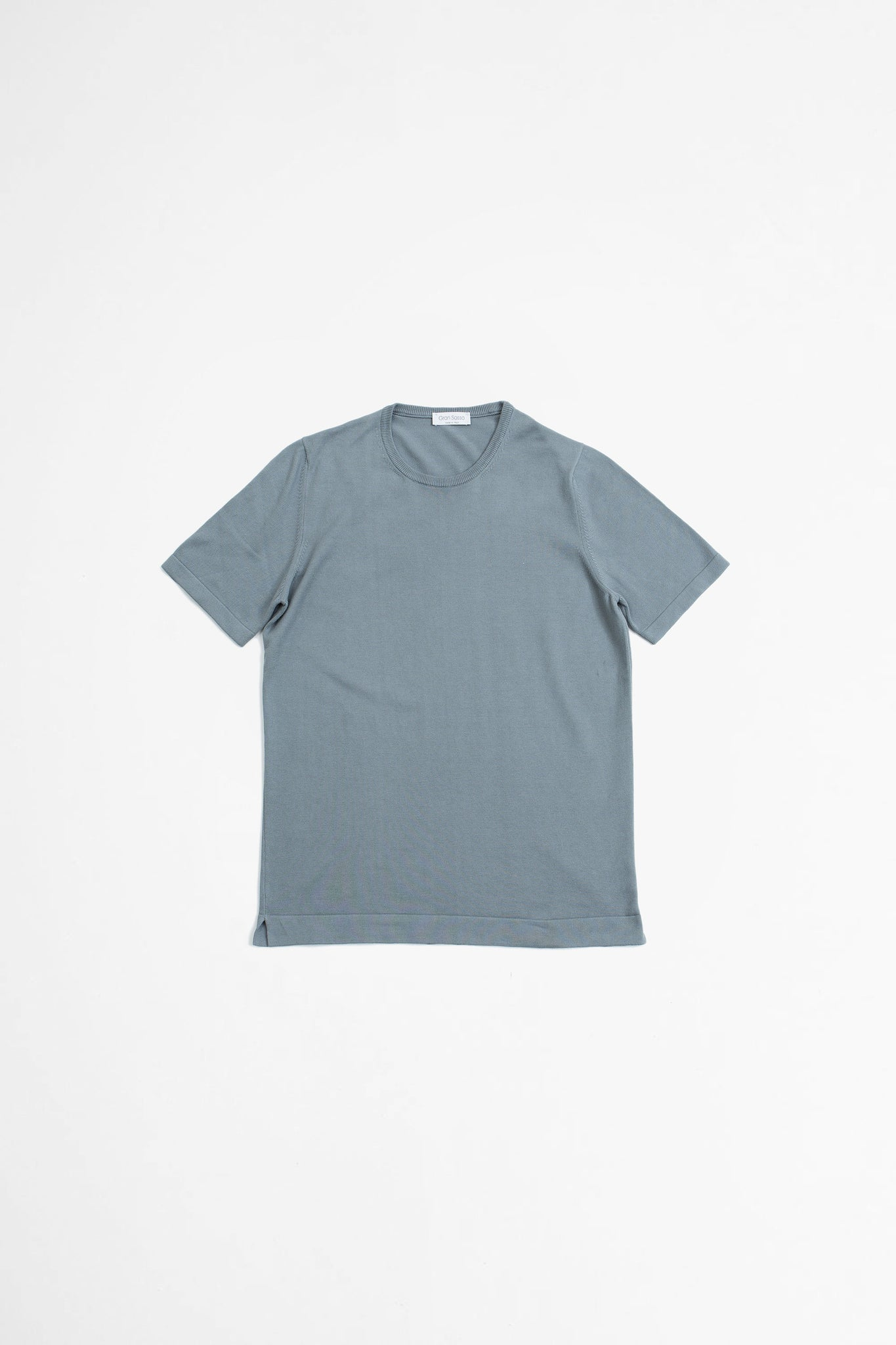 Paricollo short sleeve grey
